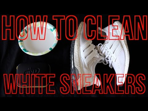 How To Clean White Sneakers (Adidas Ultra Boost)