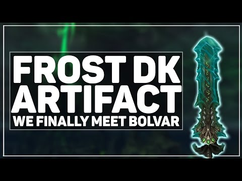 WoW Legion: The Frost DK Lich King Artifact Quest