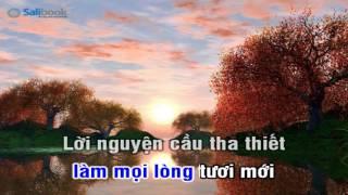 [Karaoke TVCHH] 001 - XIN THẦN LINH ĐẾN- Salibook