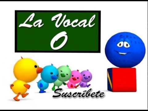 Las vocales A E I O U: Vocal O - Canta Cuento Infantil Educativo - La Pelota Loca