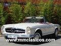 MM CLASICOS MERCEDES 230SL PAGODA 1966