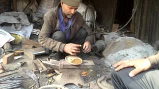 Making a Kukuri / Khukuri / Kukri in Nepal