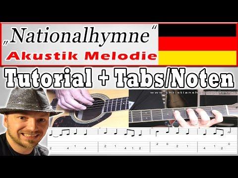 Zur EM: Deutsche Nationalhymne