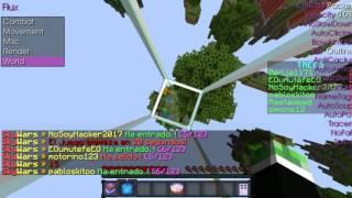 Flux B6 hack MINECRAFT 1.8 / Descarga /EL MEJOR HACK Video