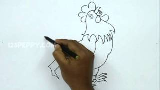 How to Draw a Cock