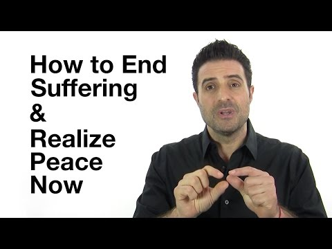 How to End Suffering and Realize Peace - Stop Believing Your Mind