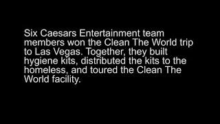 Caesars Entertainment team members reflect on 2020 Clean the World trip thumbnail