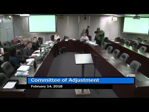 C of A TEY District - Public Hearing - February 14, 2018  Mo