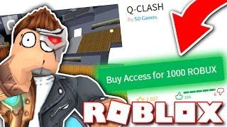 QUESTO GIOCO COSTA 1000 ROBUX PER GIOCARE?! (Roblox)