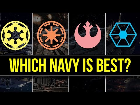 Which Star Wars Faction has the BEST NAVY?   Star Wars Lore