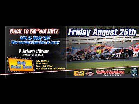 stafford speedway dare stock august 25,2017