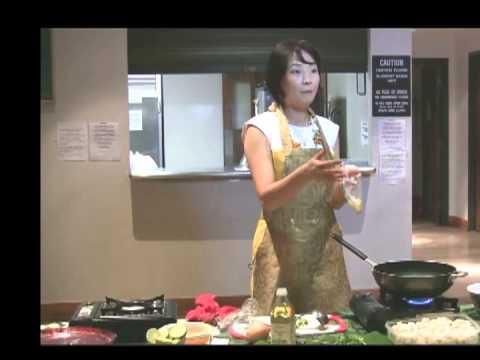 """""""Ori Ann Li's Vegan Paradise:  A Cooking Demonstration"""""""