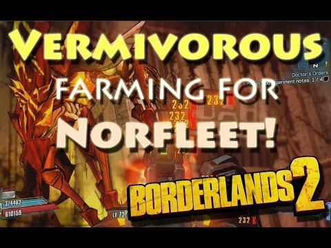 Borderlands 2 - Solo farming Vermivorous the Invincible for Norfleet (Siren, level 72)