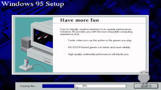Windows 95 Installation - VirtualBox