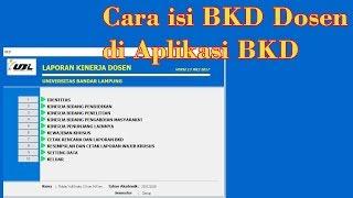 Download Video Cara mengisi Laporan BKD Dosen Pada Aplikasi BKD MP3 3GP MP4