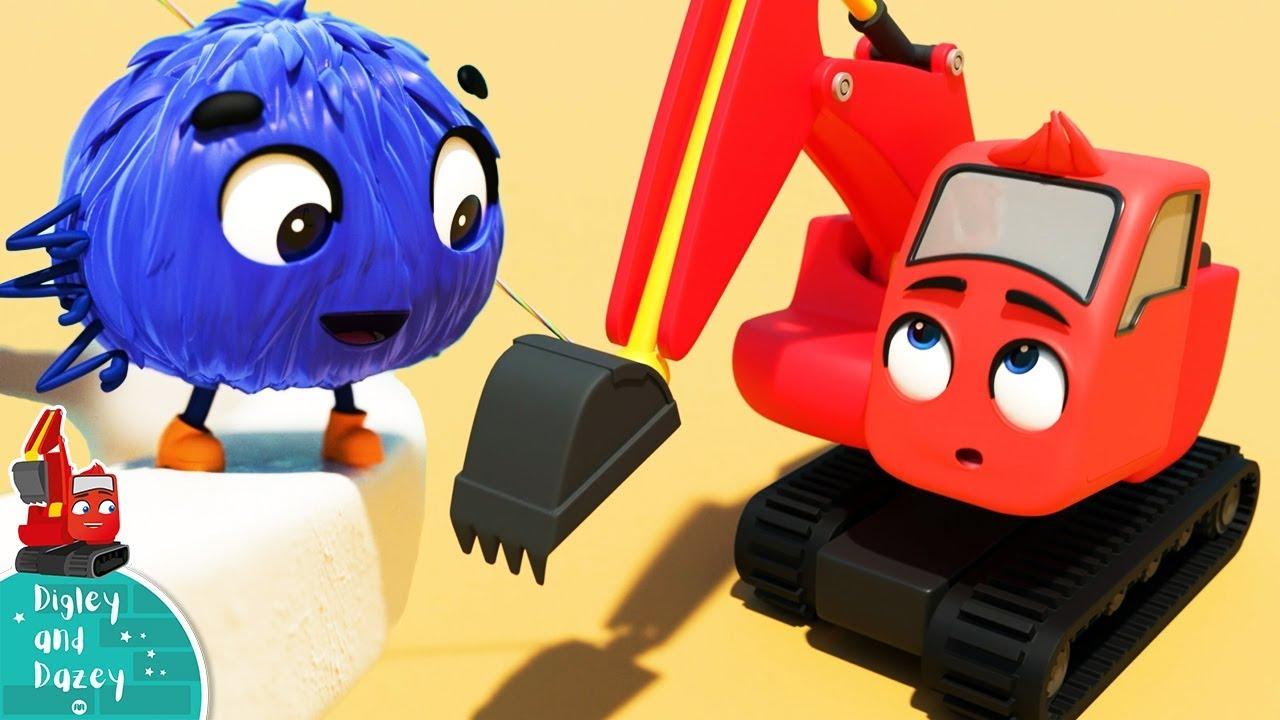 Incy Wincy Araña | Digley y Dazey | Dibujos Animados | Little Baby Bum Latino