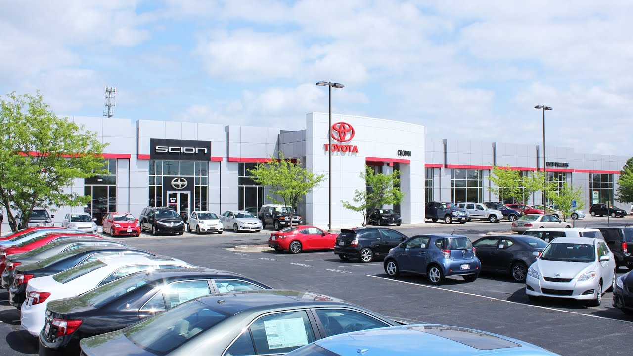 Crown Toyota/Scion Of Lawrence KS   Tour Of Dealership