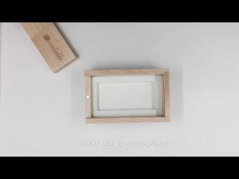 USB Wood Flash Drive | Wood Box for photographers
