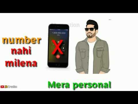 💕Tu kari phone mera manager chakuga |❤| Punjabi Romantic status video |❤| 30 second lyrics status |