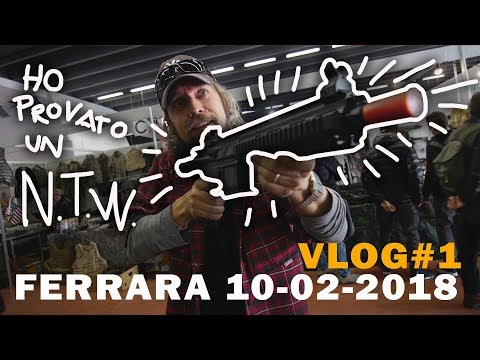 FIERA di FERRARA SOFTAIR 10-02-2018 (vlog #1)
