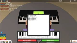 Roblox Faded On Piano (Words in desc)