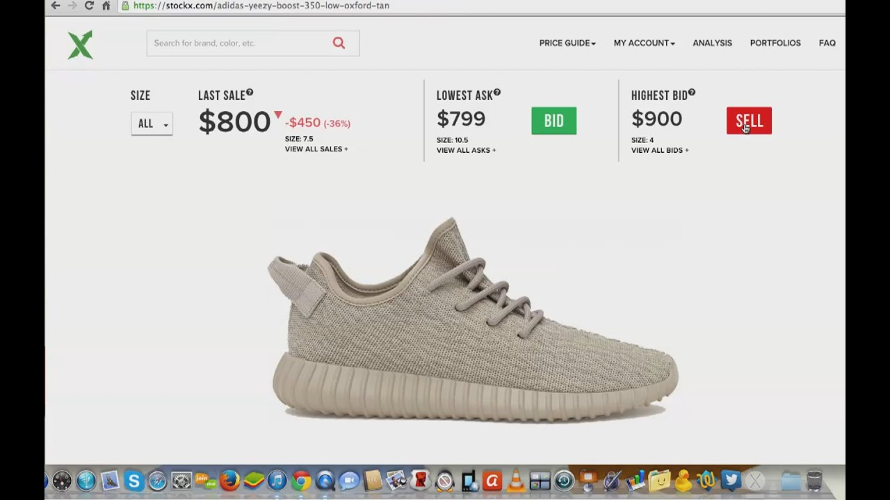 4be9a7c6 BEST NEW WAY TO BUY AND SELL SNEAKERS!? @STOCKX - YouTube