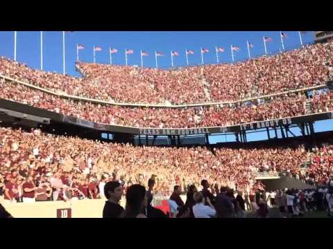 """Fans chanting to Kanye West's """"Power"""" 