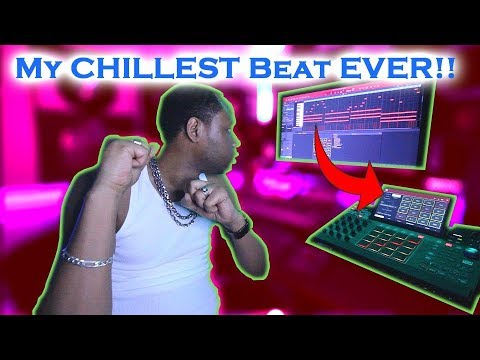 Made the Most Chill beat EVER (on the spot) MPC X beat making