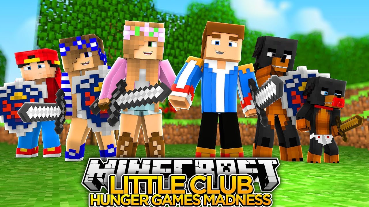 Little club hunger games madness minecraft little - The little club ...