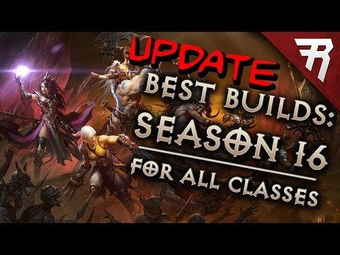 Diablo 3 Season 16 Tier List Update (Best builds for all classes)