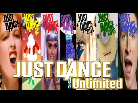 Just Dance Unlimited - Songlist/Tracklist (from beginning to May)