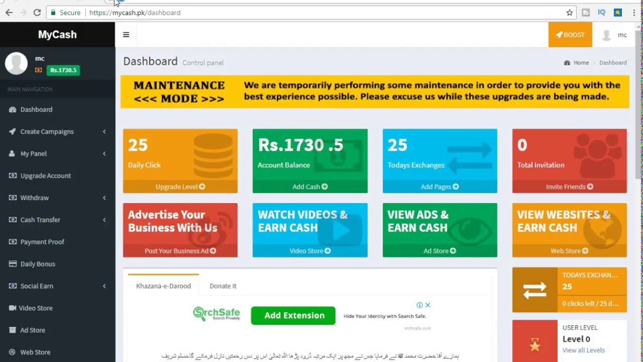 how to ern money pakistan main mycash app se daily 2000 withdrow jazzcash