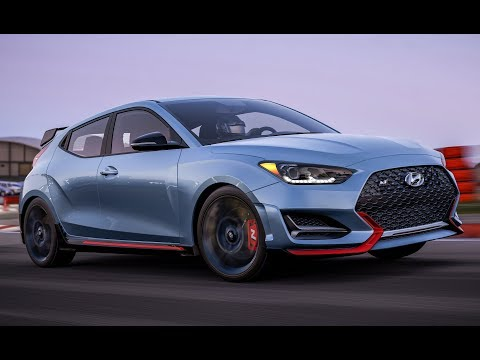 2019 Veloster N 275Hp Exhaust Engine Sound Running, Exterior and Interior