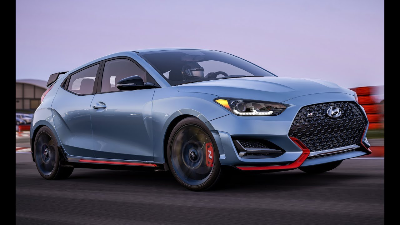 2019 veloster n 275hp exhaust engine sound running exterior and interior