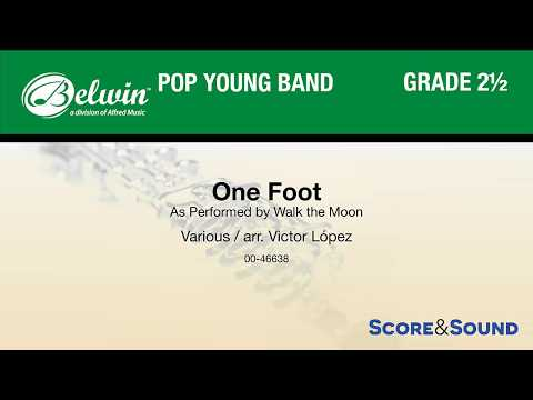 One Foot, arr. Victor López – Score & Sound
