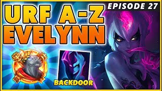 THE FUNNIEST BACK DOOR I'VE EVER DONE (A-Z EPSODE 27) - BunnyFuFuu | URF