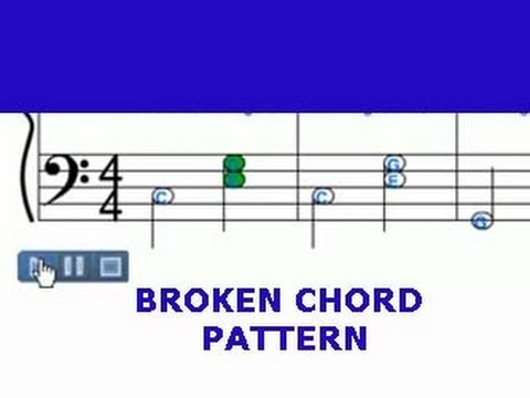 Broken Chord Pattern Youtube