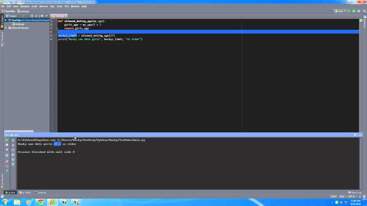 Python Programming Tutorial - 13 - Return Values
