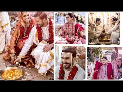 Happiest Moments Of Deepika & Ranveer's Full WEDDING Ceremony -Haldi,Mehendi,Ring,Fera