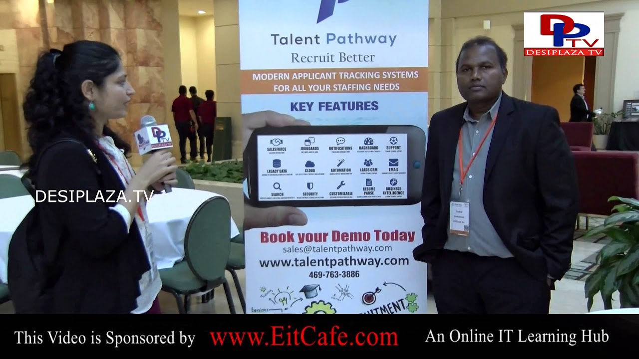 Sridhar of Talent Pathway speaking to Desiplaza TV at ITSERVE SYNERGY 2017