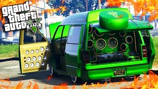 GTA Online: Do Custom Speakers Make the Car Radio Louder? - Lowrider DLC Car Speakers (GTA 5 DLC)
