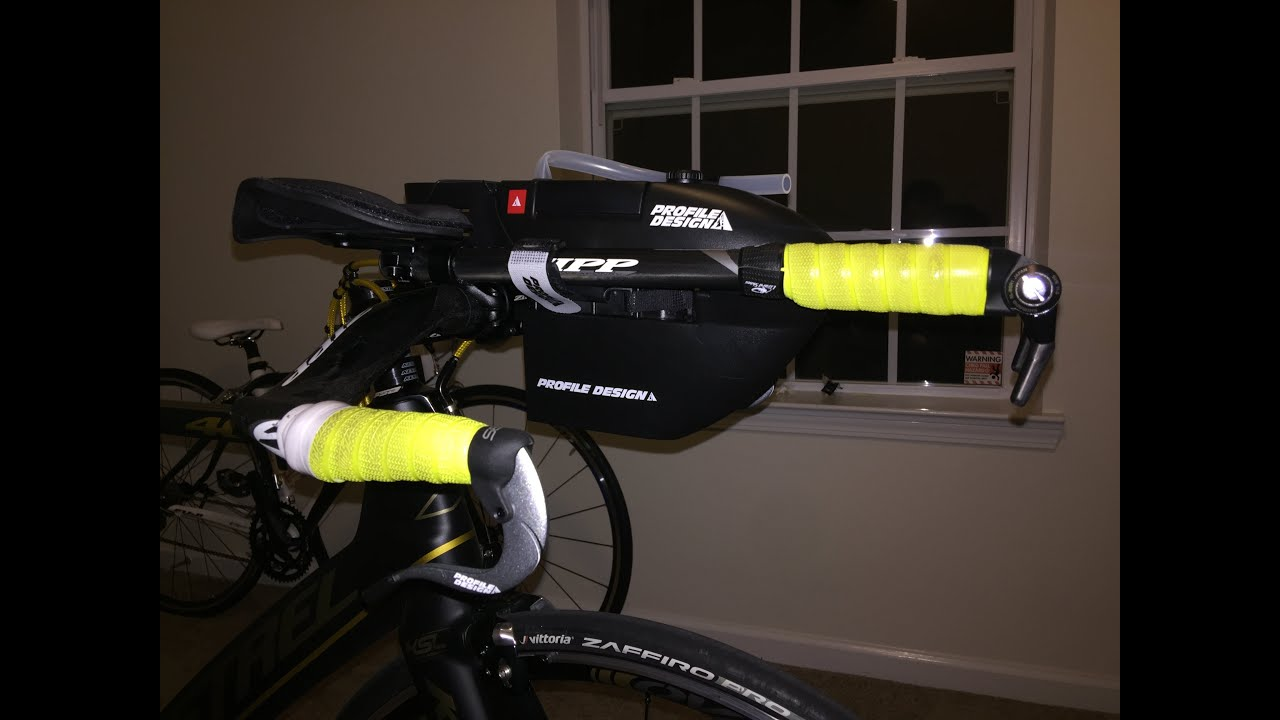 Post Ride Review Of The Fc 35 Hydration System Profile Design Youtube