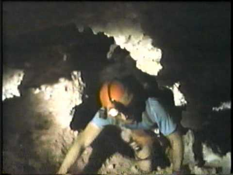 Lechuguilla Cave in Carlsbad Caverns National Park New Mexico (1995) Part 1