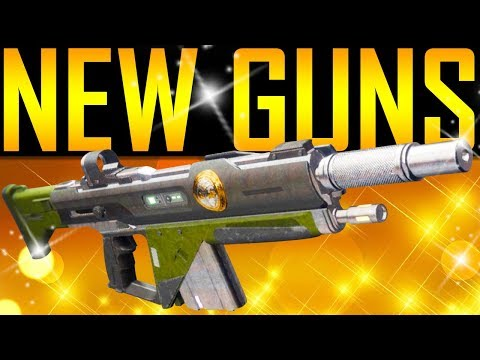 Destiny 2 - NEW IRON BANNER MAP AND GUNS!