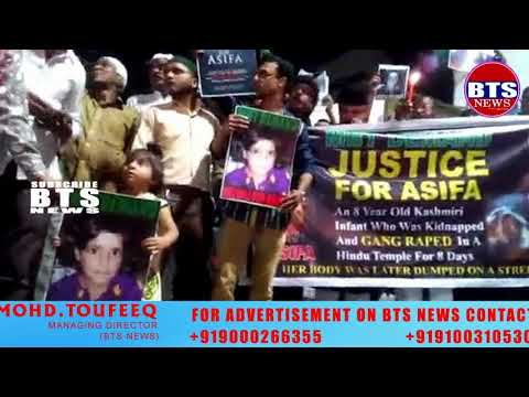 MBT Party Protest - Justice for Asifa at Aliabad and demand For hanging culprits as soon as possible