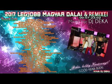 ▷ /TOP 40/2017 LEGJOBB MAGYAR SLÁGER DALAI & REMIXEI ◁ HUNGARIAN TOP DANCE MIX letöltés