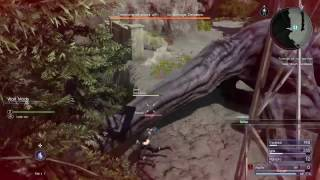 Final Fantasy 15 - Friends of a Feather quest - Defeating Deadeye the Behemoth