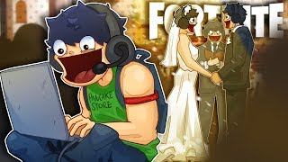 HE MISSED HIS SISTERS WEDDING BECAUSE OF THIS! - Fortnite Battle Royale