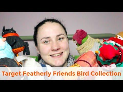 Deckard!! 2019 Target Christmas Featherly Friends Bird Set of 8 Wondershop