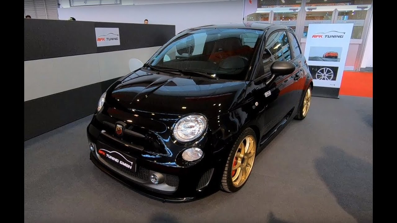 Fiat Abarth 595 Competizione Rfk Tuning With Opus Wheels Walkaround